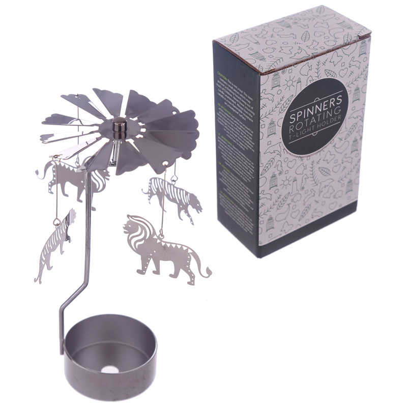 Zoo Design Metal Tea Light Spinner